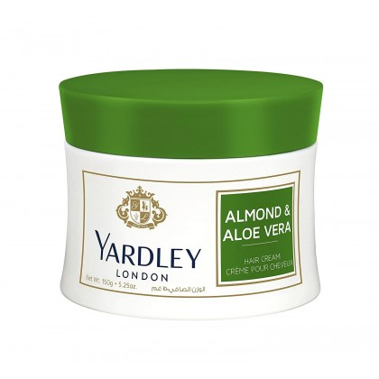 Yardley London Almond & Aloe Vera Hair Cream 150g (Krim Rambut)
