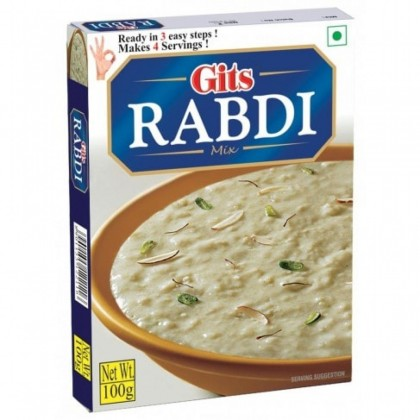 Gits Instant Rabdi Mix 100g Ready to Cook North Indian Sweet Mix