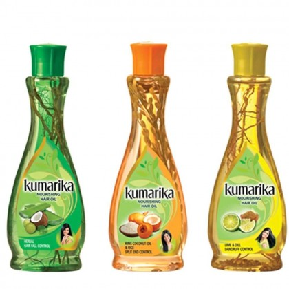 Sri Lanka Kumarika 100% Natural Nourishing Hair Oil 200ml (Hair Fall Control)