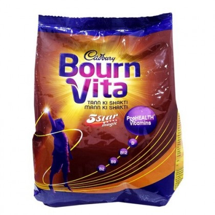 Cadbury Bournvita 5 Star Magic Chocolate Health Energy Drink 500g Refill Pack