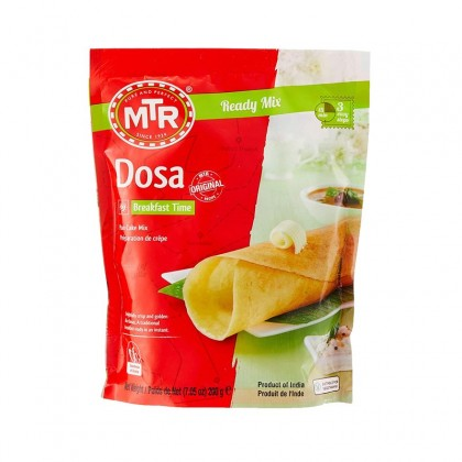 MTR Dosa Instant Breakfast Ready Mix 200g (Tepung Thosai Segera)