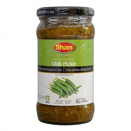 Shan Chilli Pickle in Oil 300g (Acar Cili)