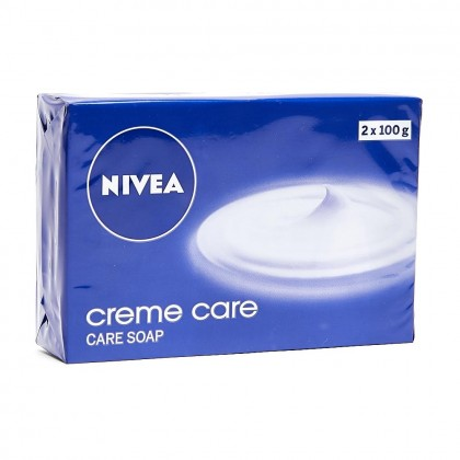 2x Nivea Creme Care Beauty Soap 100g (Pack of 2)
