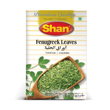 Shan Fenugreek Leaves 50g (Kasuri Methi)