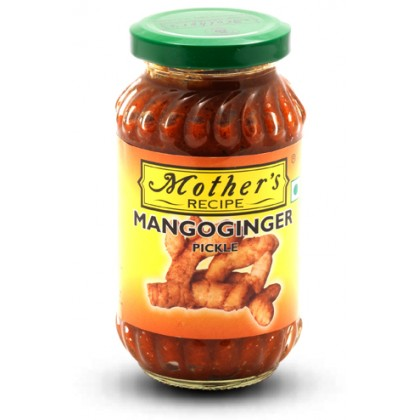 Mother's Recipe Mango Ginger Pickle 300g (Acar Mangga & Halia)