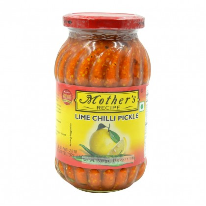 Mother's Recipe Lime Chilli Pickle 300g (Acar Limau & Cili)