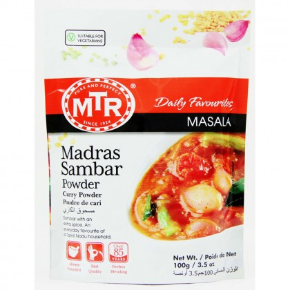 MTR Madras Sambar Curry Masala Powder 100g