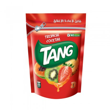Tang Tropical Cocktail Drink Powder with Vitamin C 500g Serbuk Jus Buah-Buahan