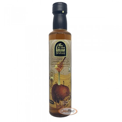 Shifaa Apple Vinegar with Honey 250ml Cuka Buah Epal