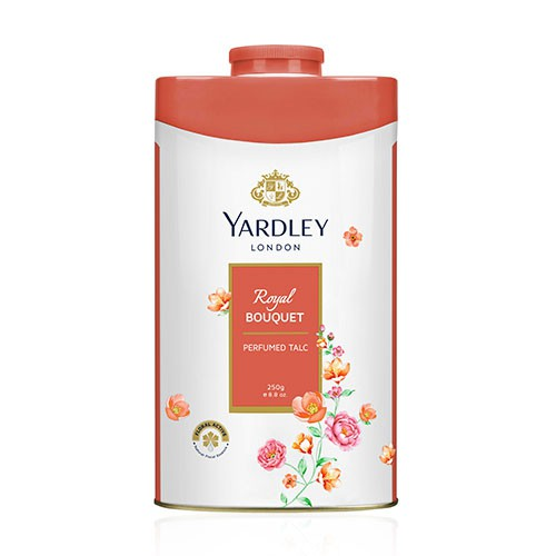 Yardley London Royal Bouquet Perfumed Talc Powder 250g (Bedak Wangi)